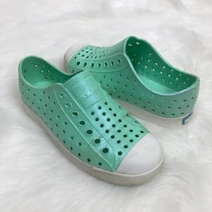Native Shoes Shoes - Native Jefferson Iridescent Girls Slip-On Sneaker